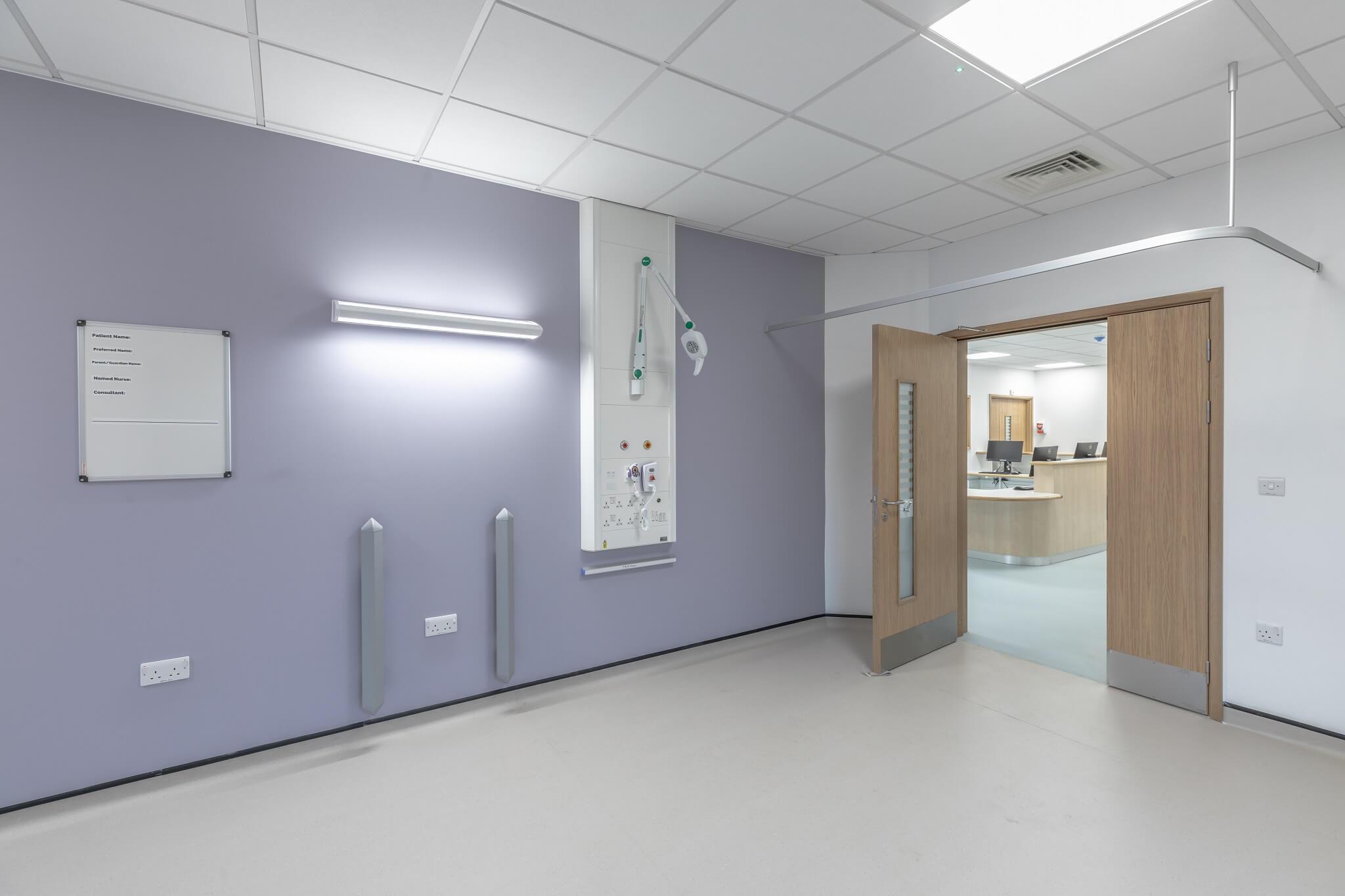 ModuleCo Modular Hospital Facility Single Bedroom at ROH Image