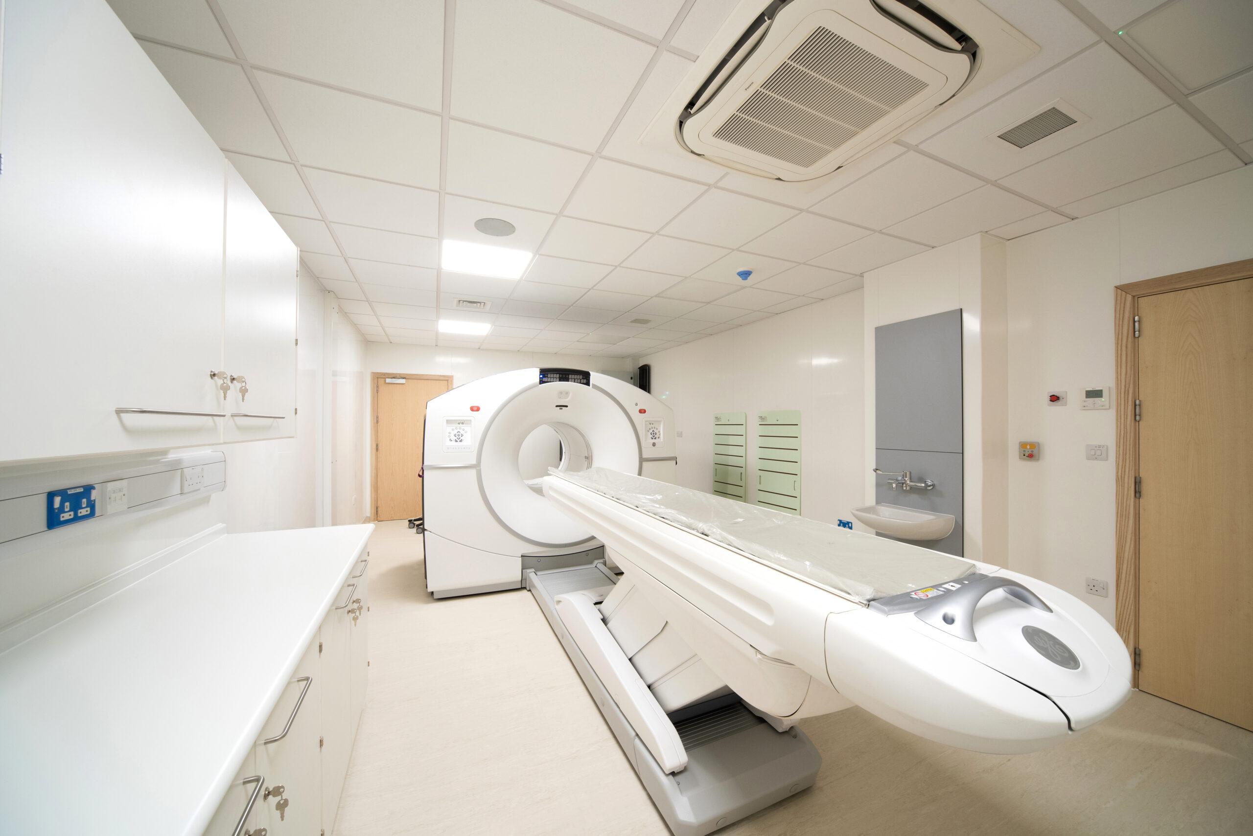 Inside a ModuleCo Modular Imaging Facility Image