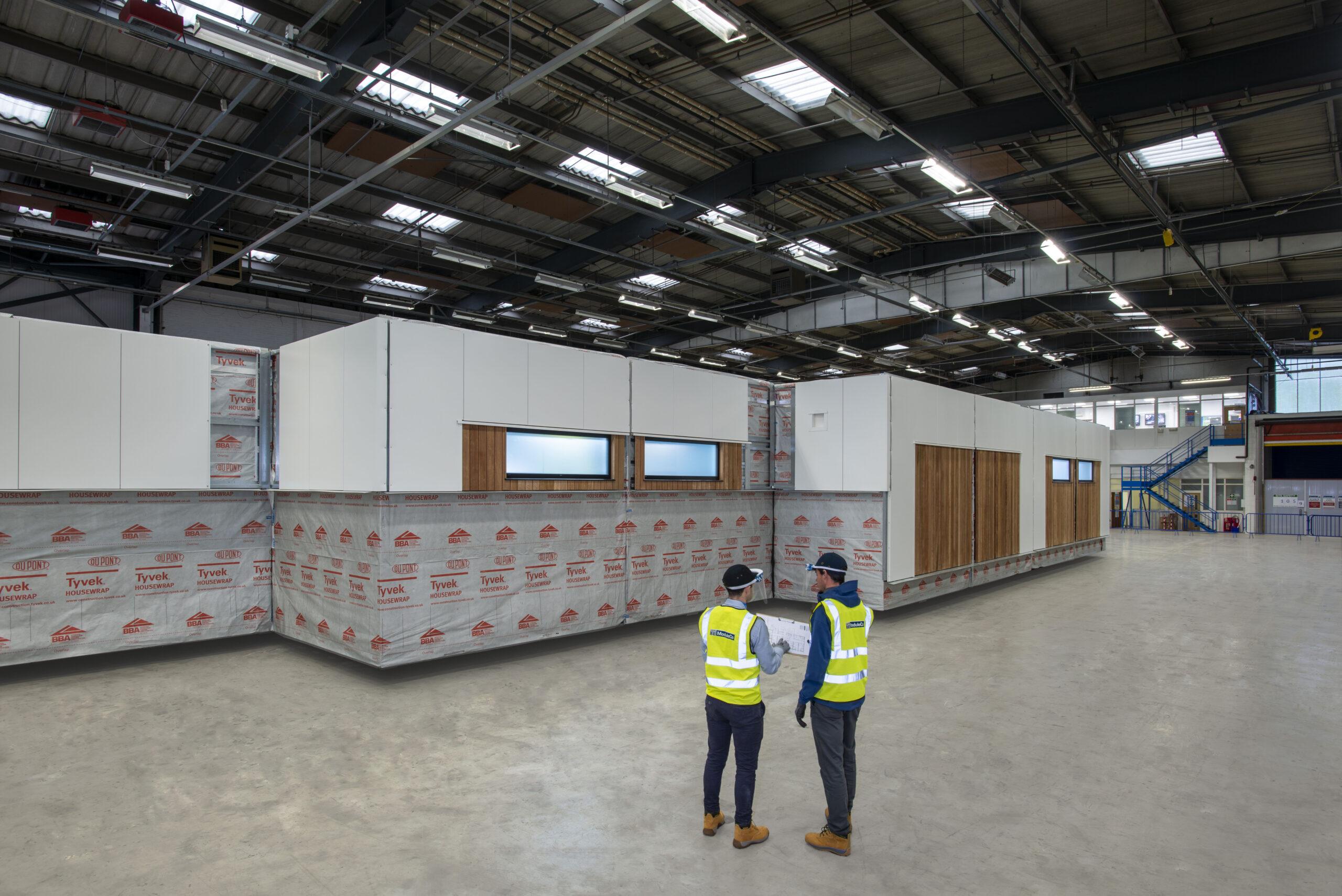 ModuleCo Modular Healthcare Facility Factory Off-Site Construction Image